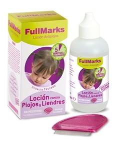 FullMarks loción antipiojos y liendres 100 ml + lendrera