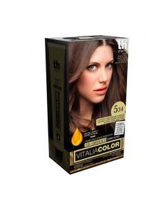 TH pharma vitalia color Nº 5.34 castaño claro dorado acobrado