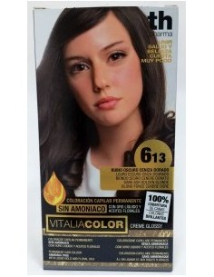 TH pharma vitalia color Nº 6.13 rubio oscuro ceniza dorado