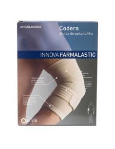 Farmalastic innova codera con banda de epicondilitis