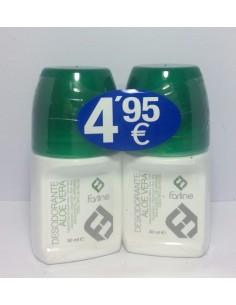Farline desodorante aloe vera 50 ml + 50 ml