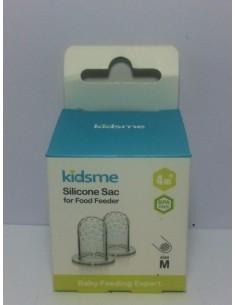 Kidsme recambio tetina alimentador talla M 2 unidades
