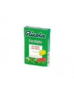 Ricola caramelos sabor eucalipto 50 g