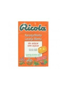 Ricola caramelos sabor naranja menta 50 g