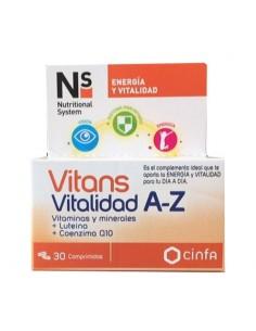 Cinfa vitans vitalidad A-Z 30 comprimidos