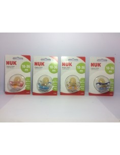 Nuk chupete Happy Kids látex 18-36m