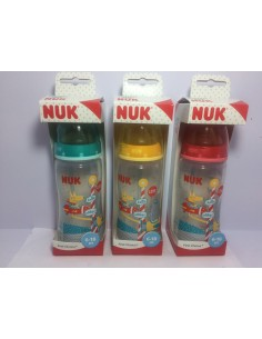 Nuk biberón First Choice Fantasy Park tetina látex talla L 300 ml 6-18m