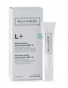 Bella Aurora L+ antimanchas tratamiento intensivo localizado piel sensible 10 ml