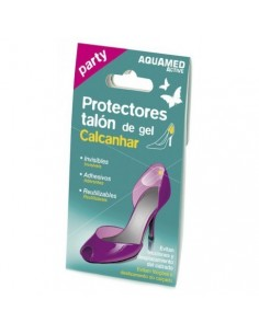Aquamed party protectores talón de gel 2 unidades