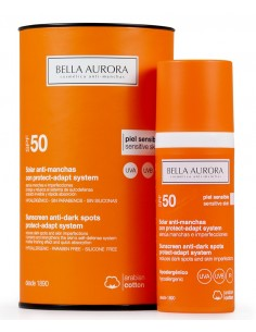 Bella aurora solar antimanchas SPF 50+ 30 ml