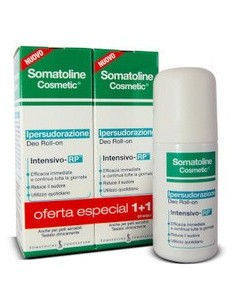 Somatoline hipersudoración intensivo RP 1+1 roll on 40 ml