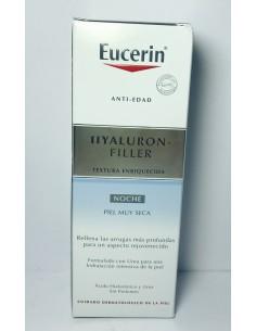 Eucerin Hyaluron filler NOCHE textura enriquecida 50 ml