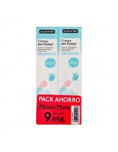 Suavinex duplo crema del pañal 75 ml + 75 ml