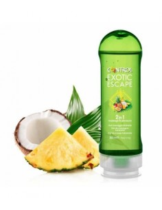 Control gel de masaje hidratante 2 en 1 200 ml exotic escape