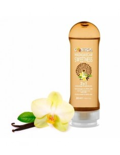 Control gel de masaje hidratante 2 en 1 200 ml madagascar sweetness