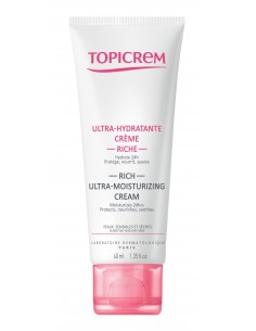 Topicrem crema facial ultra hidratante rica 40 ml