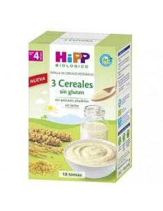 Hipp 3 cereales SIN gluten 400 g
