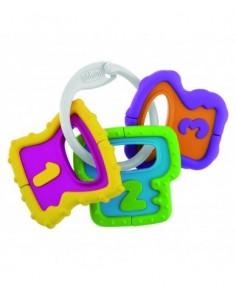 Chicco sonajero llaves fáciles de agarrar +3 m