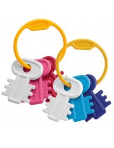 Chicco sonajero llaves coloreadas 3-18 m
