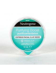 Neutrogena MÁSCARA facial en crema purificante/detox express 10 ml
