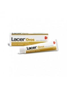 Lacer oros pasta dentífrica 125 ml + colutorio 100 ml de regalo