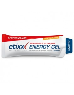 Etixx energy gel  ginseng & guarana 50 g MARACUJA
