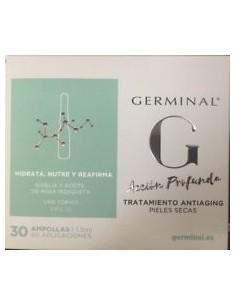 Germinal tratamiento antiaging pieles secas 30 ampollas