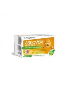 Arkovox própolis 24 comprimidos para chupar sabor menta