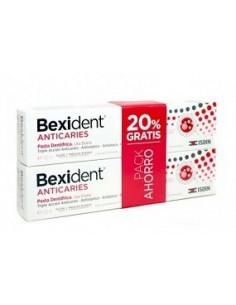 Isdin Bexident anticaries duplo pasta dentífrica 2x125 ml