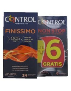 Control finissimo adapta 12 preservativos + 12