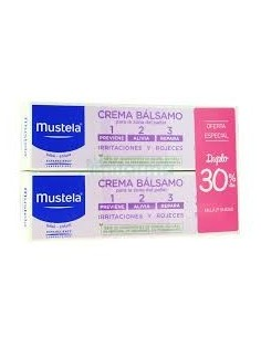 Mustela crema bálsamo 100 ml + tubo 100 ml