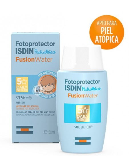 Isdin fotoprotector solar fusion water pediatrics SPF 50+ 50 ml
