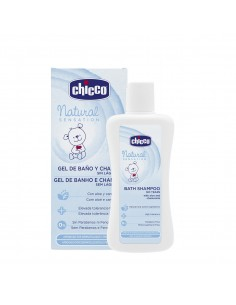Chicco Natural Sensation gel de baño y champú