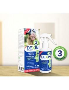 Dexin Ultra antipiojos 100+20 ml gratis