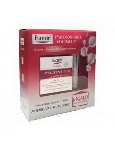 Eucerin Volume-Filler crema de día pieles secas +contorno de ojos