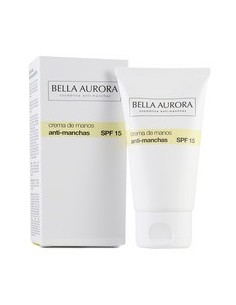 Bella Aurora crema de manos anti-manchas spf 15,  75 ml