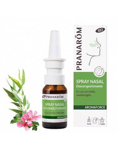 PRANAROM Spray nasal DESCONGESTIVO 15ML