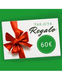 Tarjeta regalo 60€ en...