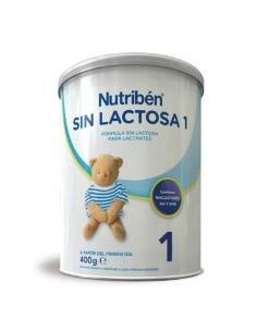 Nutribén sin lactosa 1 leche para lactantes 400 g