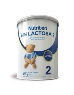 Nutribén sin lactosa 2 leche de continuación 400 g